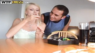 Intensely horny home made sex with face-pounding from Katerina Sz. Thumb