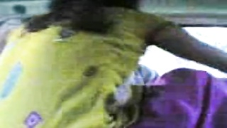 Bangladeshi couple making out in automobile Thumb