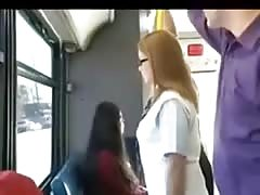 Big ass blond teen groped in bus Thumb