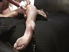 WIFE CUMS HARD! Spread Eagle - Fuck Machine - Anal Beads *as requested Thumb
