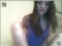 Russian Teen Plays with her sexy body again on chatroulette Thumb