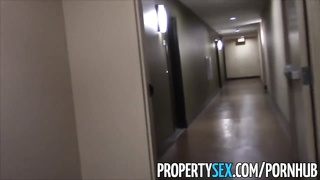 PropertySex - Young real estate agent fucking in condo homemade sex Thumb