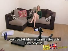 FakeAgentUK Stunning euro babe gives up her arse in sex casting Thumb