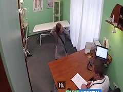 FakeHospital Hot 20s gymnast seduced by doctor and given creampie Thumb