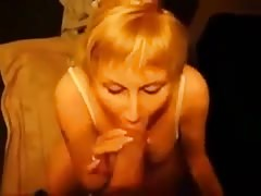 Blonde Milf Sucks Huge Cock Thumb