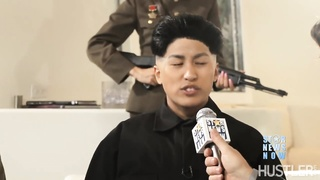 WTF  Kim Jong un has a vagina  Dennis Rodman fucks it  Wild orgy follows Thumb