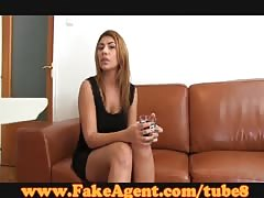 FakeAgent Juicy red head babe makes me cum hard Thumb