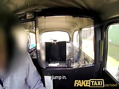 FakeTaxi Her choice is get out and walk or suck his cock Thumb