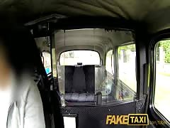 FakeTaxi Moody dark haired british girl fucked in the cab Thumb