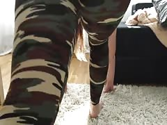 Sex after yoga in leggings Thumb