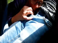 Extreme in Train : Public Blowjob and cum in mouth Thumb