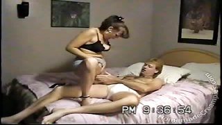 Big-tit house-wife is jumping on my cock without humiliate at all Thumb