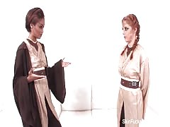 Jedi Skin Diamond shows Penny Pax the force Thumb