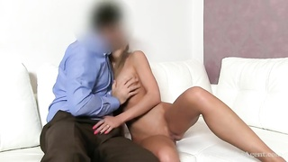 Thoroughly unusual blond is pounding in her face Thumb