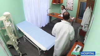 Sensual slut is loving gonzo sex with an lovely physician Thumb