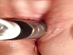 My Wife - Real Orgasm With Dildo Inside Thumb