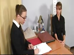 Humiliating nude job interview for a young woman Thumb