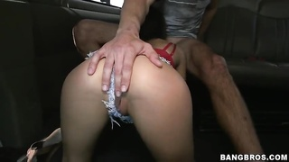 Cum-addicted young street walker providing a attractive sloppy head Thumb