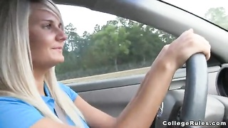 Sex in exactly the automobile with a fabulous dark haired who offers precisely the vibrant blow-jobs Thumb