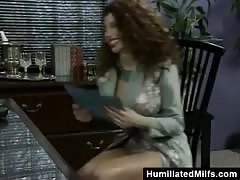 Office Double Penetration For Busty Milf Thumb