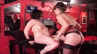 Xxx threesome Bondage And Discipline Servitude with exploiting kinky dildos Thumb