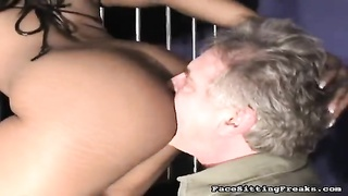 Black with immense bung hole getting your mitts on licked from the rear by fuck-slave Thumb