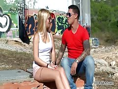 MyFirstPublic - Accidental threesome with two hot babes Thumb