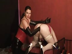 German mistress slave anal training Thumb