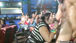 Beefy stripper Dancing Bear screwing with intently home made sweeties Thumb