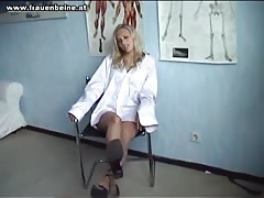 2 Gorgeous babes Force dude to Worship there Perfect Feet Thumb
