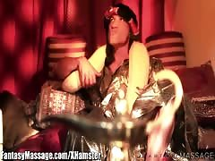 FantasyMassage The Sheik 2: Sensual Oily Massage by 3 Blonde Thumb