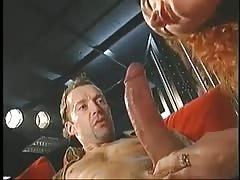Guys drill a young slut's ass and a pussy at the club Thumb