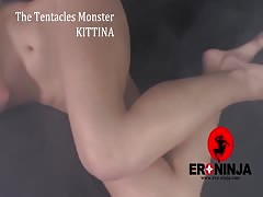 The Tentacles Monster Kittina Ivory Thumb