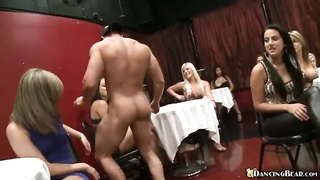 Cock-addicted young whores nailing with gonzo strippers Thumb