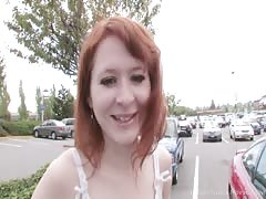 Sexy redhead craves for the big pulsating donger Thumb