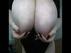 huge boobs masturbating Thumb