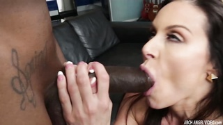 Lusty Babe Kendra Lust gets her pussy filled by big black cock Thumb
