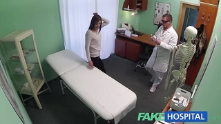 Short-haired honey being educed by doc in exactly the flick by Faux Hostpital Infirmary Thumb