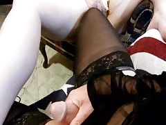 Wife joins me on web cam Thumb