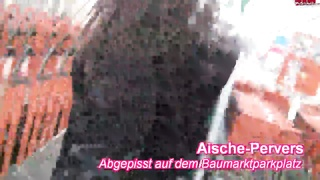 Masturbation in exactly the public place by a sexy black-haired Thumb