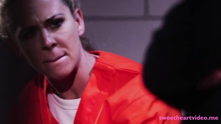 Lustful lesbians Cherie and Karlee licking pussy in the jail Thumb
