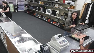 Jessi walks in the shop and gets fuck Thumb