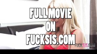Ruthless Blond House-wife Provides Up Her Bung Hole Thumb