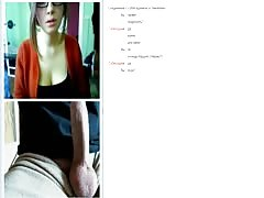 Playful girl is enjoying perverted video chats such as this one Thumb