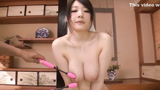 Sexually Aroused Japanese woman Rie Tachikawa in Hottest JAV uncensored Dildos/Toys connect Thumb
