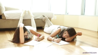 Natalie Monroe & Ava Taylor. Studious Prostitutes - Hobby HD Thumb