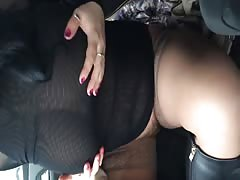 My lusty as fuck Russian wife is teasing her sexy big tits Thumb