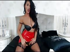 sexy chick in latex Thumb