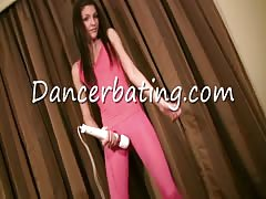 Sweet dancing action with a slutty Dancerbating mademoiselle Thumb