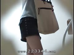 Peeping the change of clothes of Japanese slender girl. Thumb